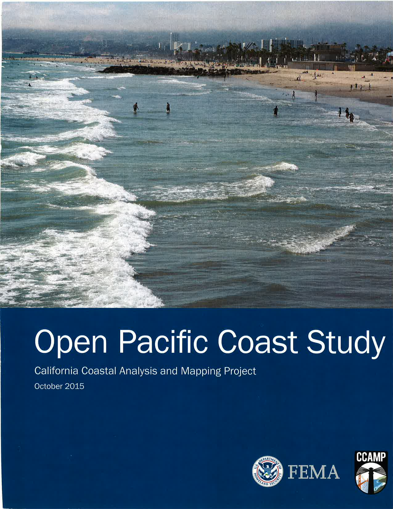 Open Pacific Coast Study 2015