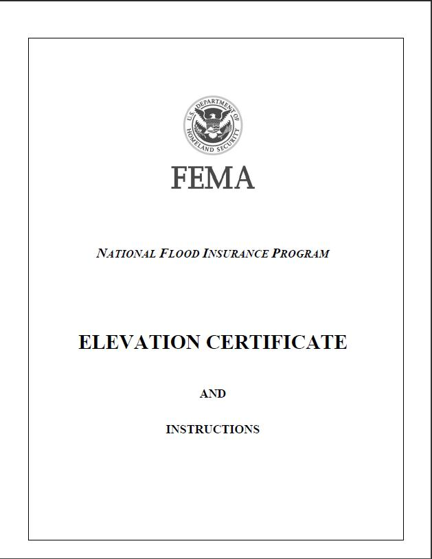 Fema Elevation And Floodproofing Certificates Ventura County Flood